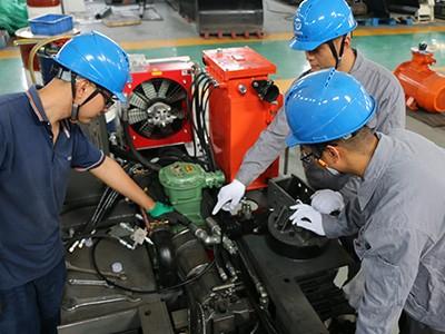 天地煤机-生产现场员工实拍